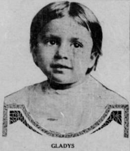 image of young gladys